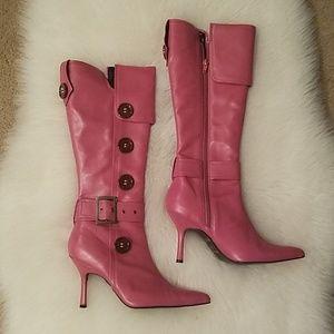 Taunt mauve pink boots